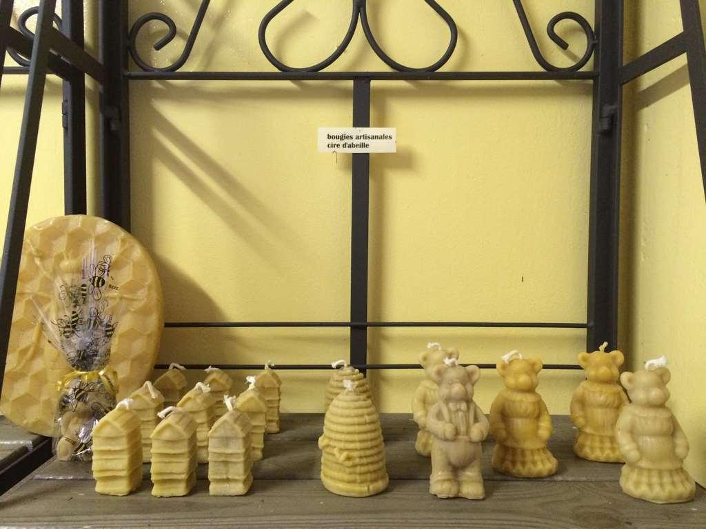 produits de la ruche en vente dans la boutique